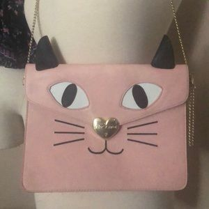 Betsy Johnson  Kitsch Cat Clutch